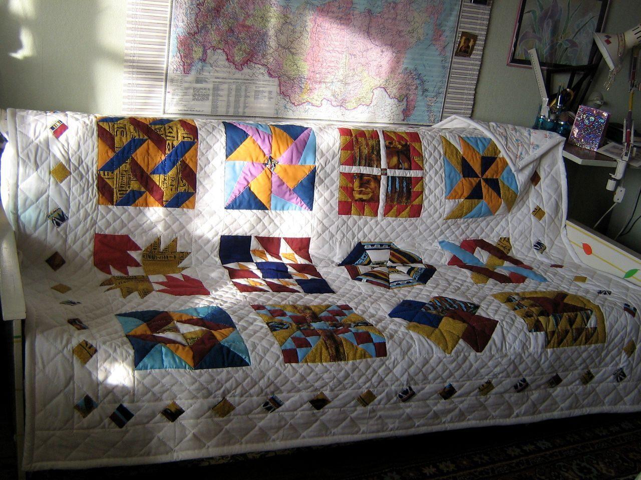 Стеганое одеяло своими руками фото